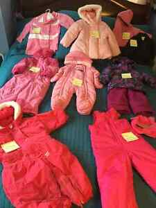 Snowsuits for a Baby Girl ( Several )- some top quality names