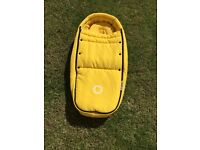 Bugaboo Bee 3 yellow baby cocoon