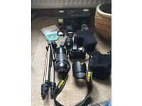 Nikon D3100 18-55 VR kit with extra's