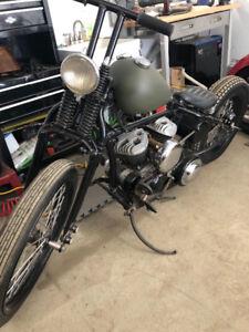 1942 WLC bobber. RARE.