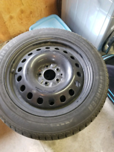 Selling genesis coupe snow tires