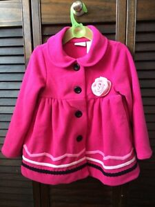 Fleece jacket and matching hat 3T