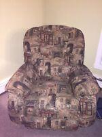 Divan et fauteuil