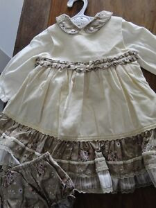 Robe chic pour petite fille (12 mois)