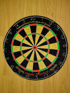 OFFICIAL NORDOR  SWIFTFLYTE DART BOARD