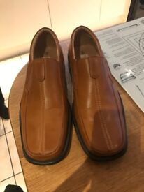 Tan men's shoes