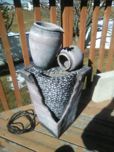 Outdoor Fountain ($120 OBO) - Pending Pick Up