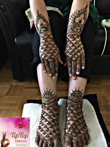 Bridal henna (mehndi) & party henna at your place $5 onwards