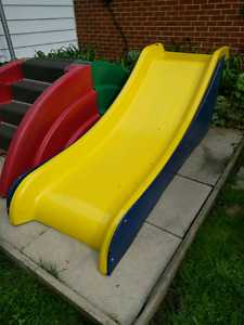 Outdoor Play Slide with 2x sets of stairs