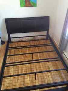 Set of Bed Frames (1 Queen size and 2 single size)