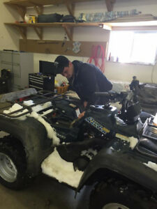 We FIX 4 wheeler's...Dirt Bikes...lawn mowers...Small Engines