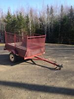 Excellent 4-1 X 6 ft utility trailer - 800 obo