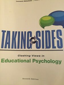 Taking sides- Educational Psyc Peterborough Peterborough Area image 1