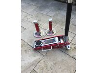 1 1/2 Ton Jack and 3 Ton jack stands