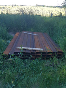 """Square Steel tubing 7' 11 1/2"""" long 4""""x7""""x.188 thick"""