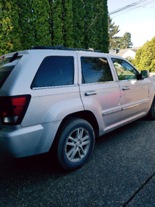 2008 Jeep Grand Cherokee Diesel Parting out