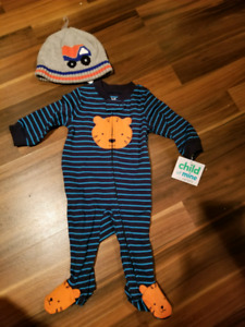 Carters New Baby Boy onsie and hat