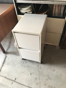 Letter Size Wooden Filing Cabinet, Great Condition!