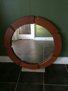 Decorative mirror diameter of 2ft 6in