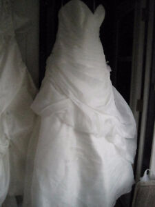 Alfred Angelo Ivory Wedding Dress Corset Lace-up