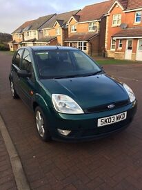 Ford Fiesta 1.4 zetec, very clean car
