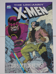 Marvel Comics Uncanny X-Men Days of Future Past#1 TPB comic book