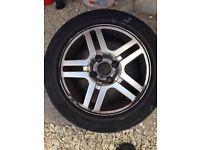3 x Ford Focus alloy wheels