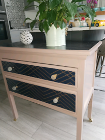 Upcycled chest of drawers/ cabinet