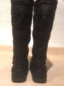 Women's Tall Leather Winter Boots Size 6.5 London Ontario image 3