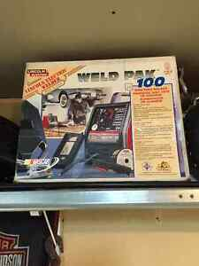 Brand new Lincoln 110v welder with accessories