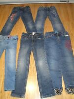 Girls Jeans 11 pair