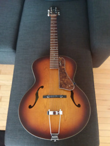 PRICE DROP   Godin 5TH Ave Archtop - Excellent Condition