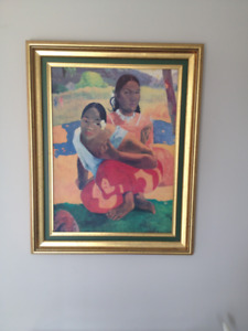 Tableau / Cadre *** Painting / Frame