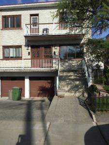 Bas de duplex à louer Lasalle / Lower Duplex for rent Lasalle