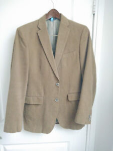Men's blazer/sport coat - Brown (size 38)