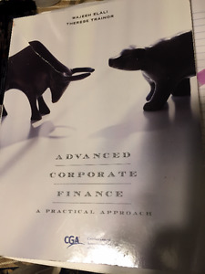 NAIT Advanced Corporate Finance Text