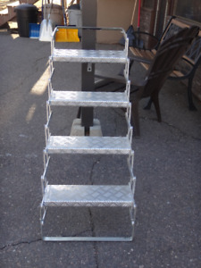 TRUCK CAMPER FOLDING STEPS FOR SALE $100 FIRM