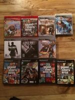 9 Playstation 3 & PS2 Games (Some Still In Wrapping) $70 OBO