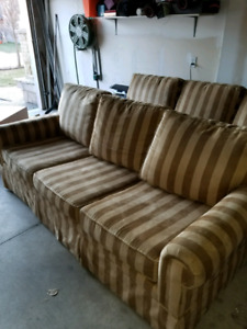$250 for 2 custom made couches and an ottmen