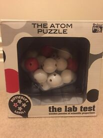 The atom puzzle scientific toy stocking filler great educational toy