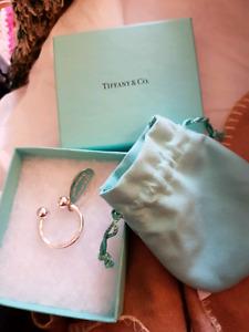 Tiffany & Co. Silver Keyring