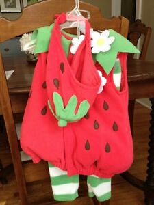 Halloween Costume-Strawberry-12 mos.