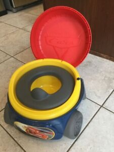 Cars potty never used