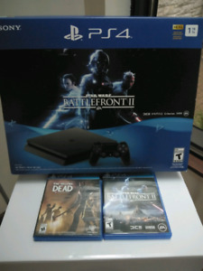 Sony PS4 Play Station 4 + 2 jeux
