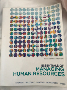 Essentials of Managing Human Resources - St. Clair MGN105