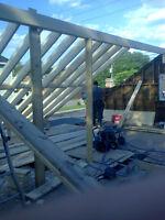 Pour vos travaux en toiture (toit plat gravier) 514 653 0729