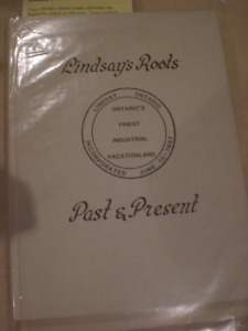 "Book ""Lindsay's Roots:  Past and Present"""