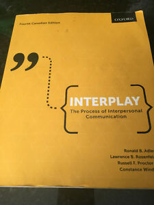 Interplay, the Process of Interpersonal Communication