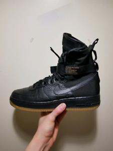Nike SFAF1 air force 1 size 9
