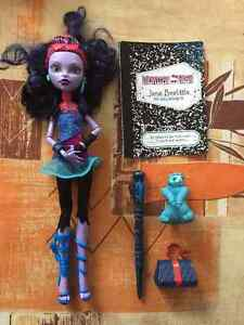 Monster High Jane Boolittle Original. Christmas